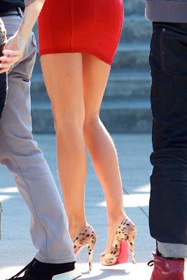 las piernas peludas de irina shayk