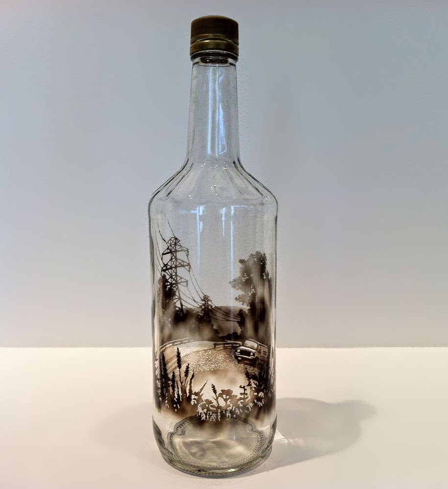 smoke-bottle art