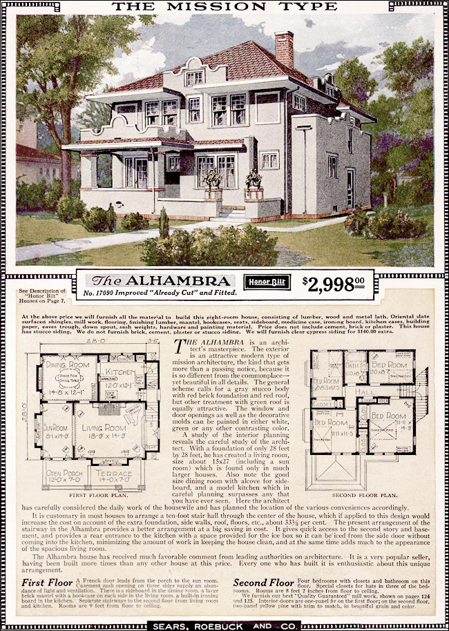 Retro therapy sears kit homes for Catalog houses
