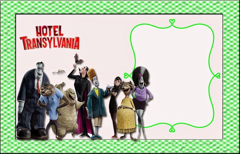 Transylvania Hotel: Free Printable Invitations. | Oh My Fiesta! in ...