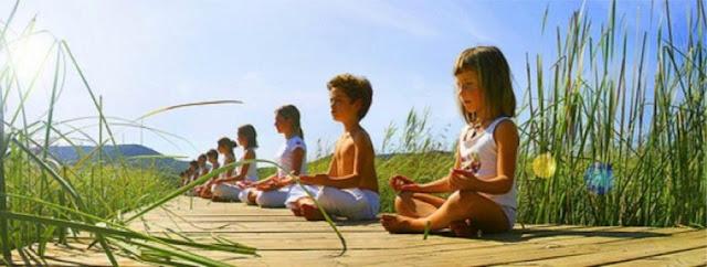 """Reiki para Crianças no """"Dharma With Love"""""""