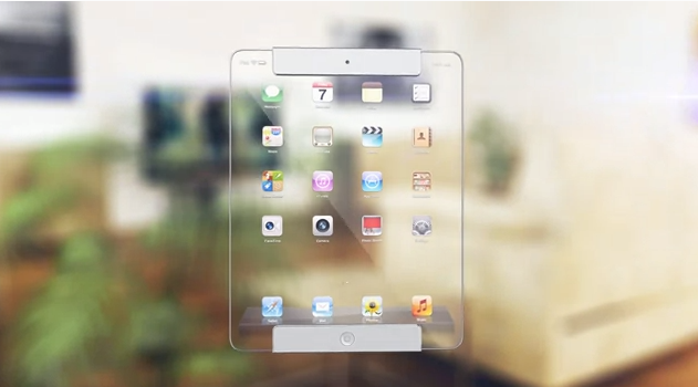 transparent ipad the new ipad concept