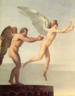 Els mítics grecs, Dèdal i Ícar