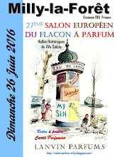BULLETIN D'INSCRIPTION POUR LE SALON DU FLACON A PARFUM DE MILLY