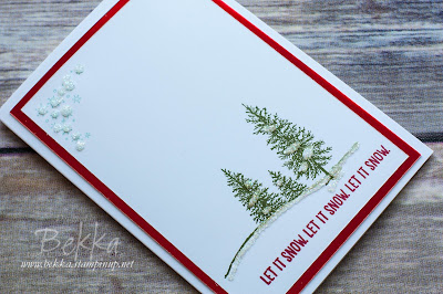 Pretty Sparkly Snowscape Christmas Cards - Fast and Fabulous - Get the details and instructions here