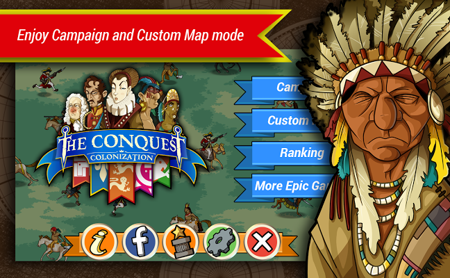 The Conquest: Colonization Gameplay Android