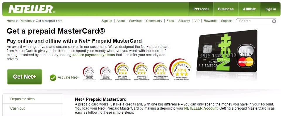 Neteller MasterCard in Nepal