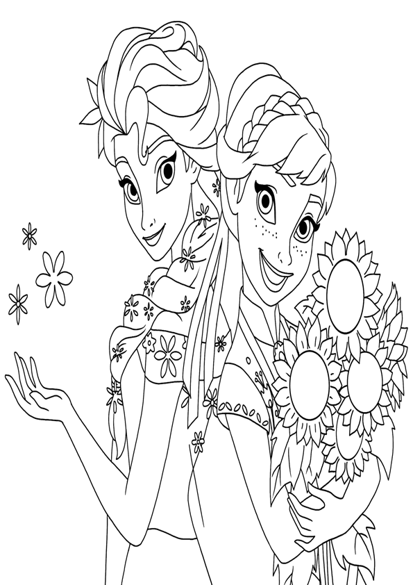 frozen 2 fever coloring pages - photo#5
