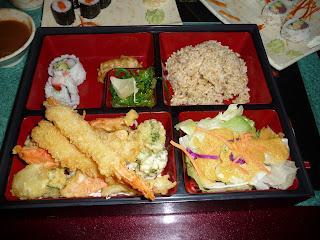 Tricia's Shrimp Tempura Bento Box