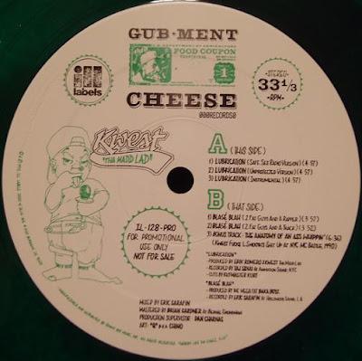 Kwest Tha Madd Lad – Lubrication / Blase Blah (1993) (Promo CDS) (320 kbps)