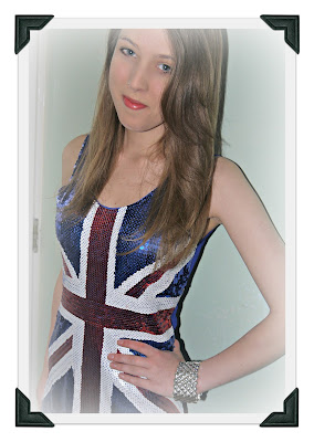 fancy dress, all fancy dress, Union Jack dress