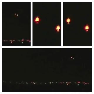 UFO Kembali Terekam Kamera di Arizona 2012