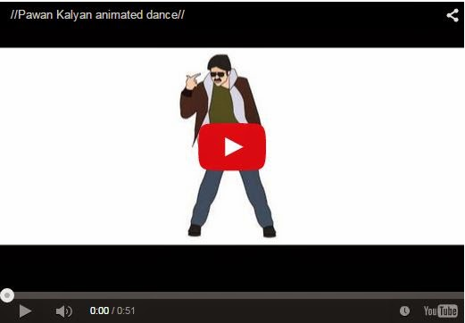 Pawan Kalyan animated dance