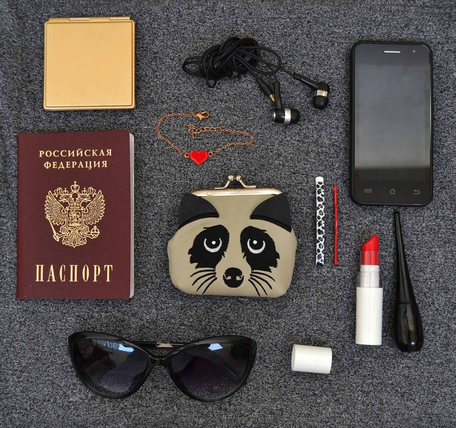 bag, сумочка, что лежит в сумке