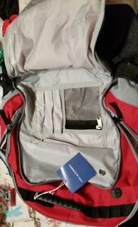 Port Authority BG100 Xcape Computer Backpack organizer pocket