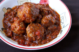 Crock Pot Herbed Turkey Meatballs