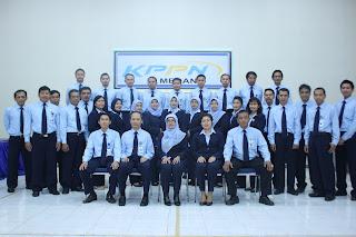 Para pegawai KPPN Medan I