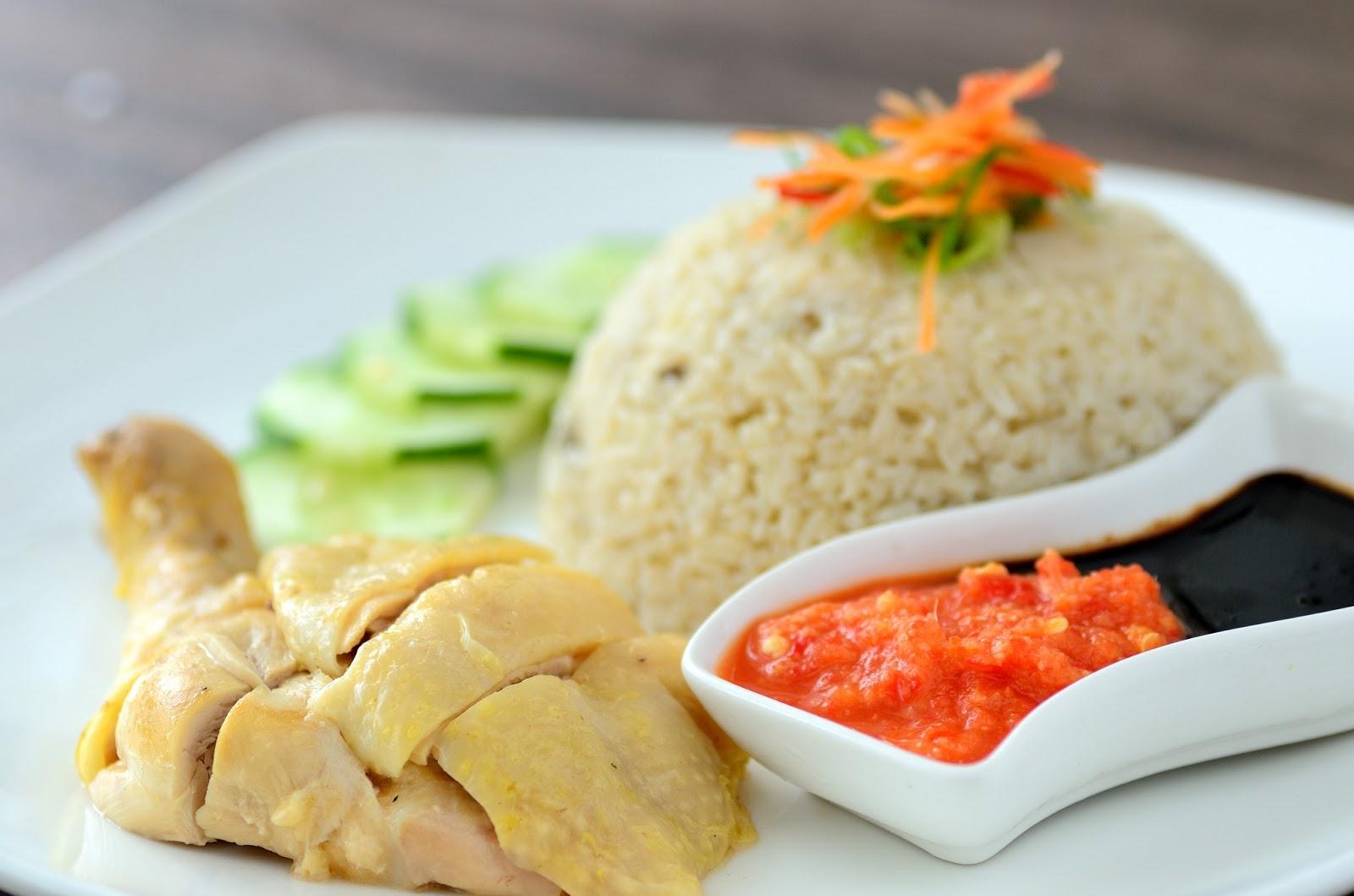 ... Hong Little Kitchen 陈伟雄小厨房: Hainanese Steam Chicken Rice