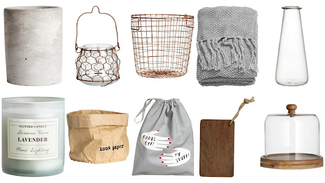 H+M Homeware Wish List
