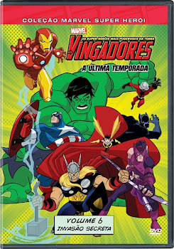 Os Vingadores Os Super Heróis Mais Poderosos da Terra Vol 06