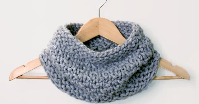 Knitting Pattern Turn : Creating Laura: Three-Turn Cowl Knitting Pattern