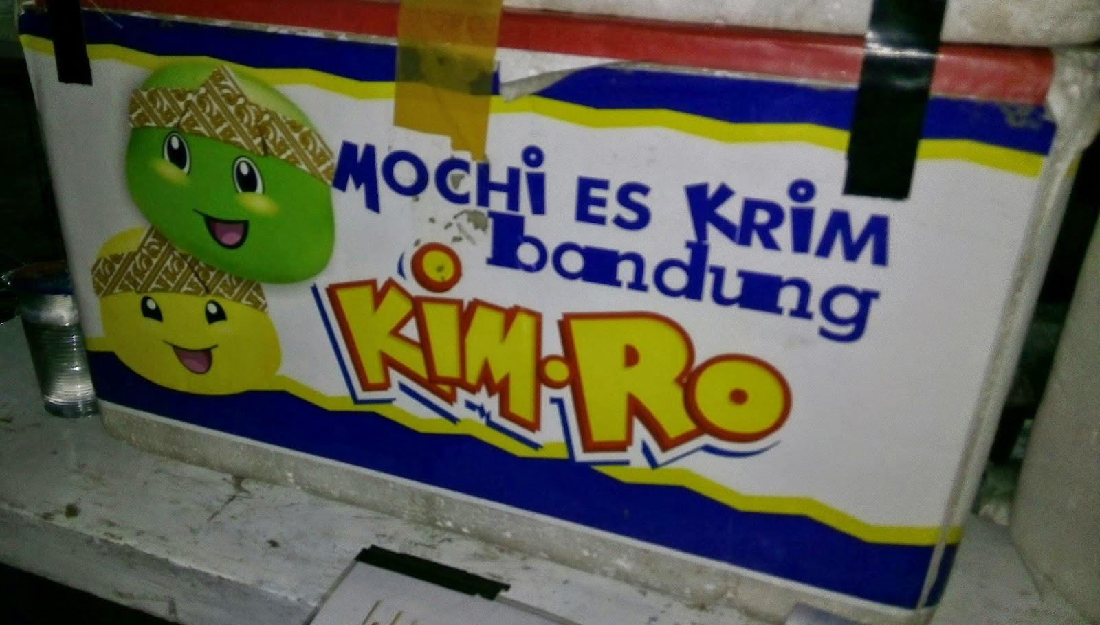 Mochi Es Krim .. Jajanan Yang Lagi Ngetren Di Bandung