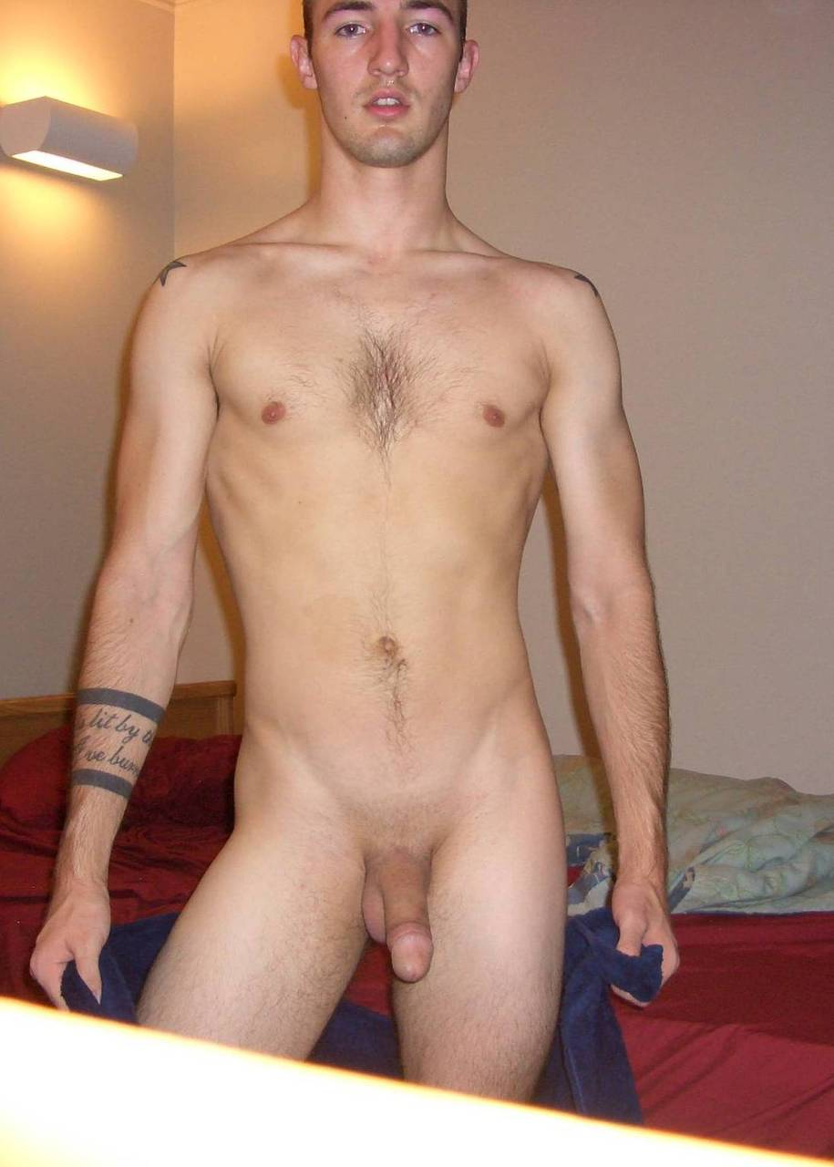 Amateur naked man