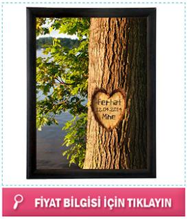 sevgiliye hediye romantik resim çerçeve