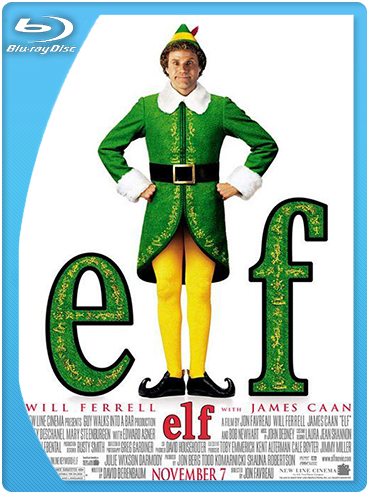 Elf (2003) BrRip 720p Latino – Ingles