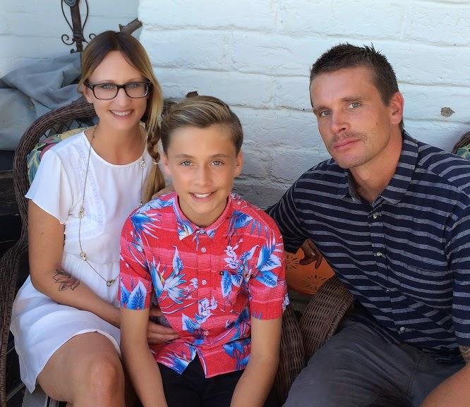Cara, Ethan and Jon