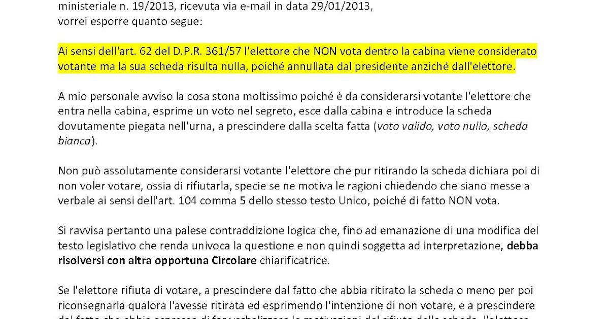 Bruno aprile e la democrazia diretta richiesta for Ministero interno r