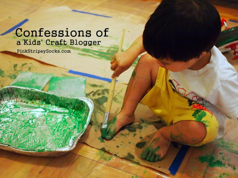 confessions of a kids' craft blogger