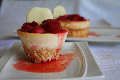 Mini cake_cheesecake_fresas