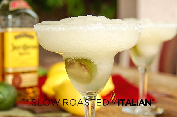 Puckered Jalapeno Margarita - Slow Roasted Italian