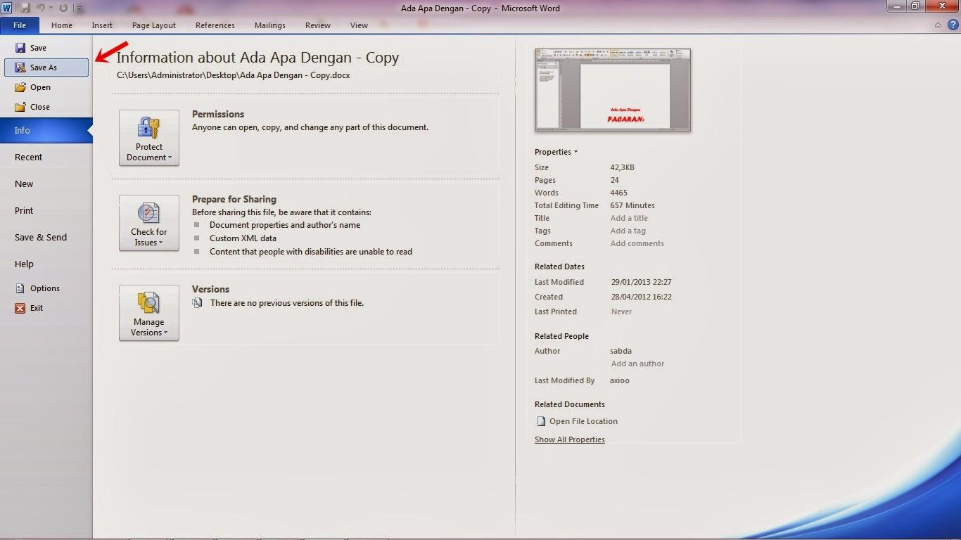 Mengubah Microsoft Word ke PDF Dengan Sangat Mudah