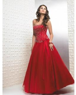 modelo de vestido vermelho - fotos e dicas