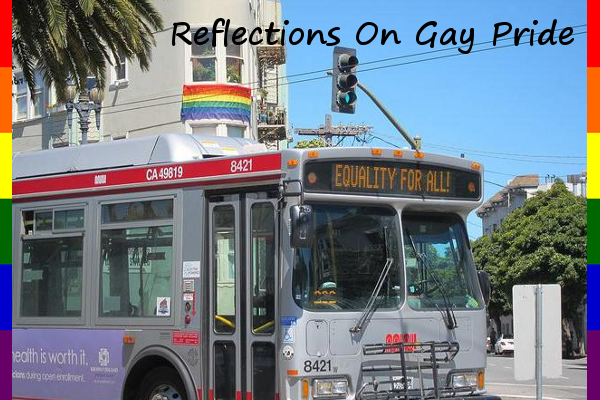San Francisco Muni Buses Promote Equality!