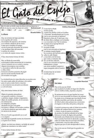 Tapa de la revista El Gato del Espejo
