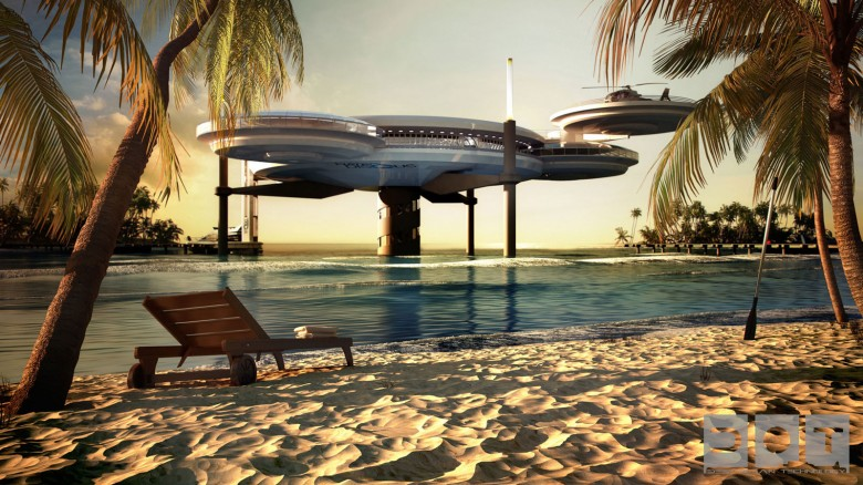 Passion for luxury underwater hotel planned in dubai for Amazing hotels