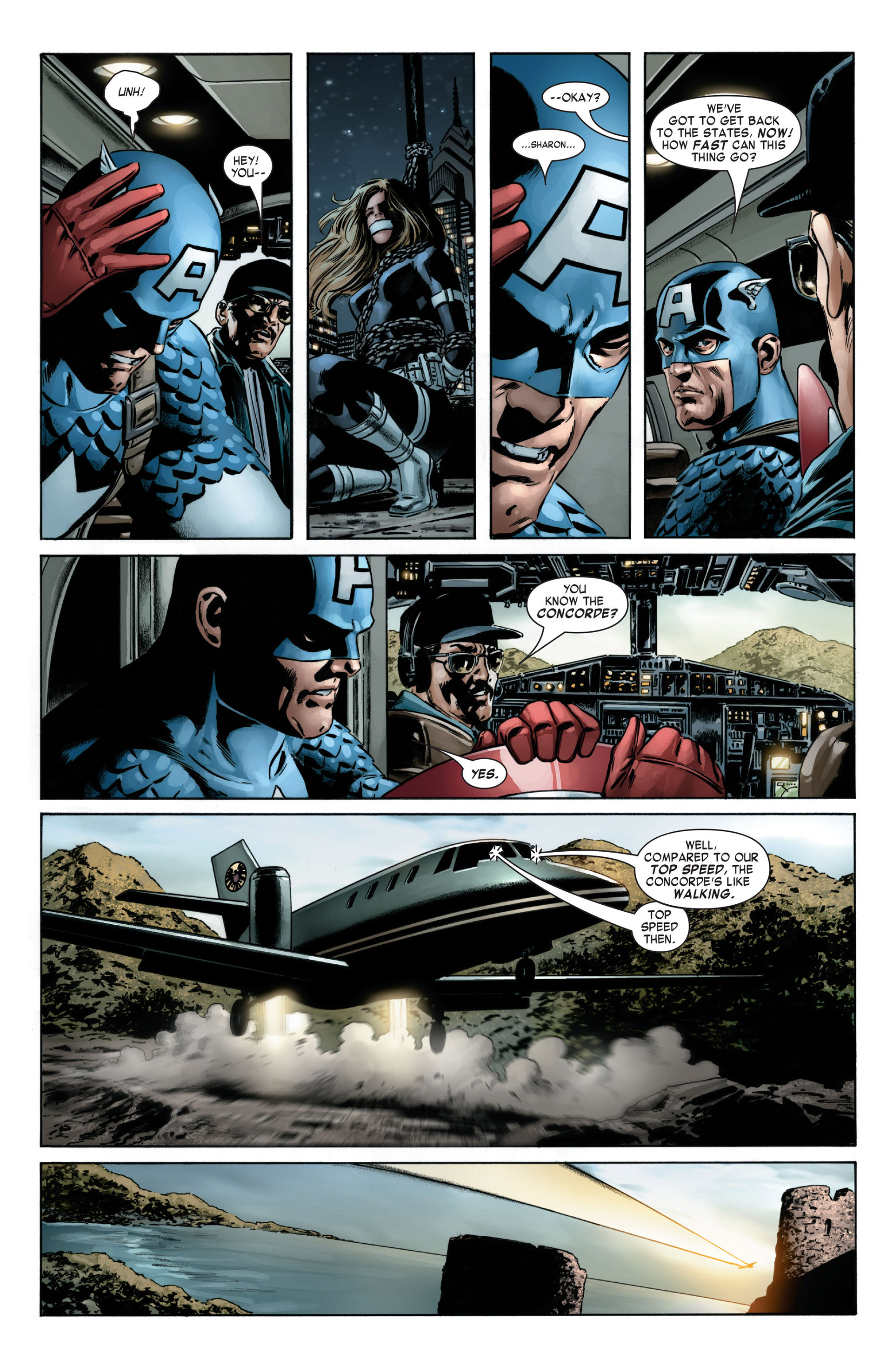 Captain America (2005) Issue #6 #6 - English 14