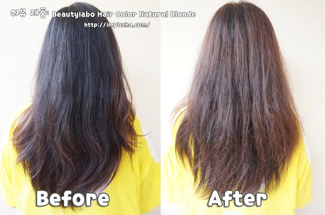 before after review beautylabo hair color