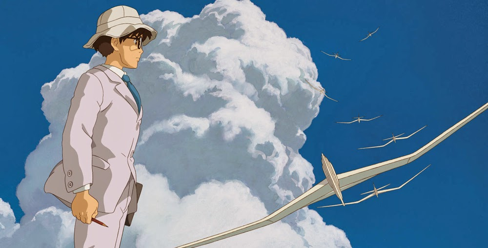 The Wind Rizes (Kaze tachinu) directed by Hayao Miyazaki and produced by Studio Ghibli