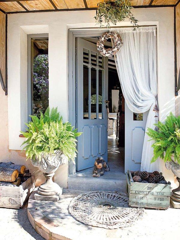 Una casa de campo unica charming country house - Casa y campo decoracion ...