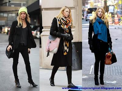 color negro siempre de moda y con mucha elegancia