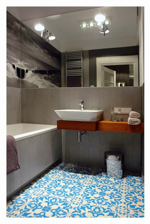 El blog de demarques apartamento en tonos grises y azules - Tonos azules ...