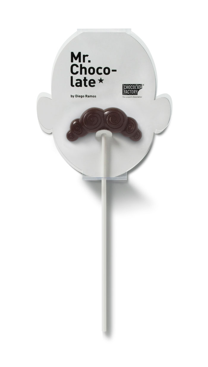 White Chocolate Moustaches