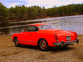 "my 1973 ""Lil Hottie"" Karmann Ghia"