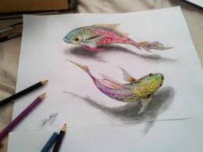 3d pencil art images art project ideas and craft ideas