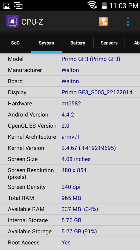 Primo GF3 Chipset