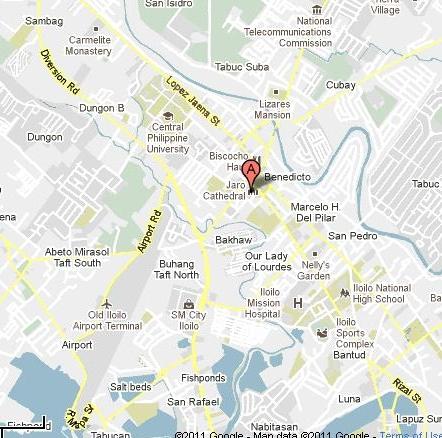 Leon Iloilo Map - Iloilo city map